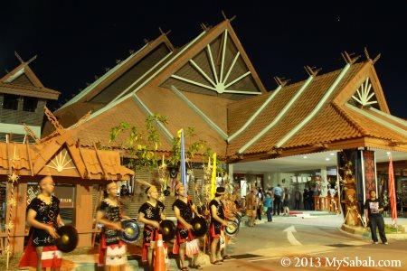 auditorium of Kompleks Jabatan Kebudayaan dan Kesenian Negara Sabah