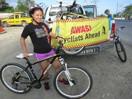 cycling at Silam