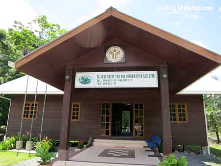 reception building of Taliwas Forestry & Recreation Area