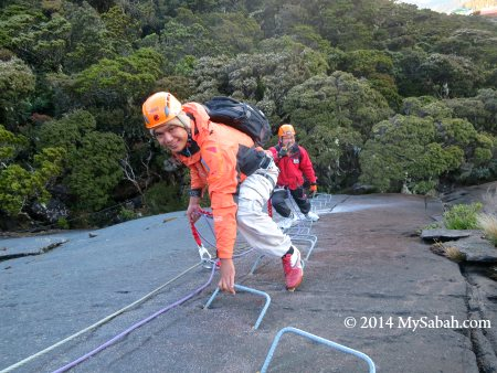 Via Ferrata on Mount Kinabalu
