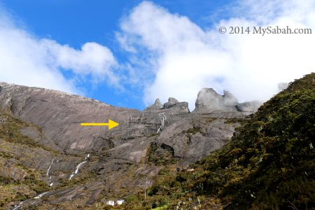 alpine playground for rock climbing
