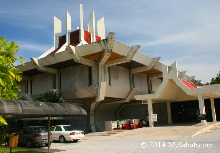 old Sabah Art Gallery building