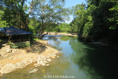 Tagal Taman Tinopikon at Moyog River