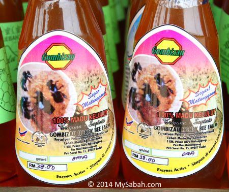 Kelulut stingless bee honey