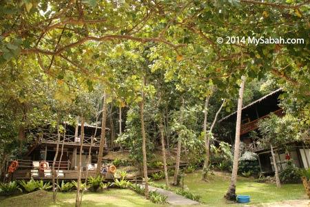 Sepangar Island activity centre