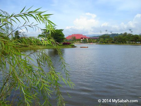 lake of Likas Sport Complex