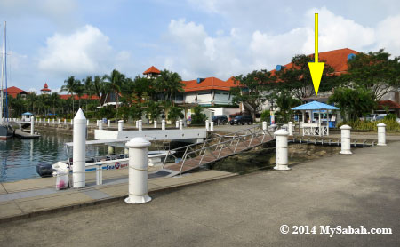 jetty of Sutera Harbor