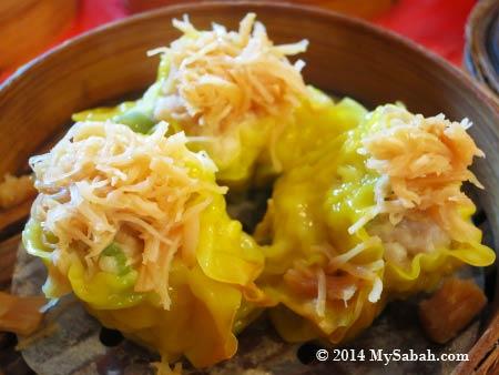 Shao Mai with scallops