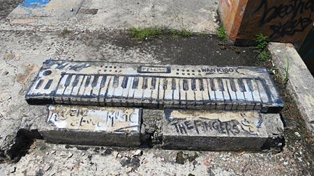 keyboard graffiti