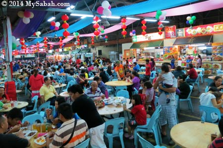 Lido Food Court in Penampang