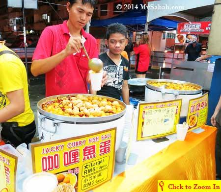 Jacky Curry Fish Ball
