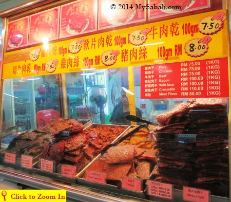 jerky and meat floss