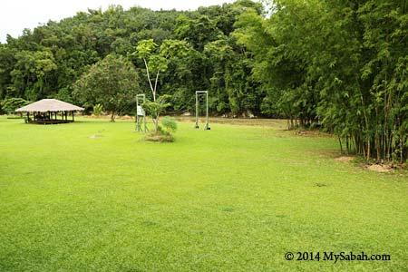 site of Zip Borneo
