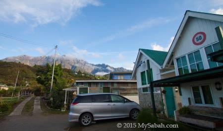 Mt. Kinabalu and Little Hut