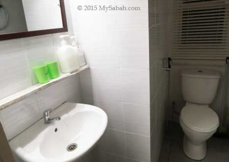 bathroom in Little Hut