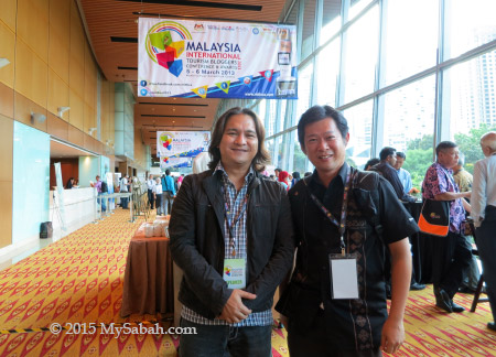 photo with Blogie Robillo from the Philippines