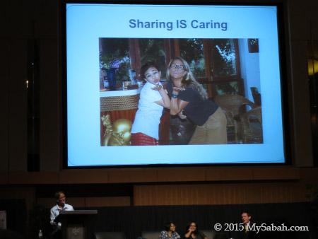 presentation slide: Sharing is Caring
