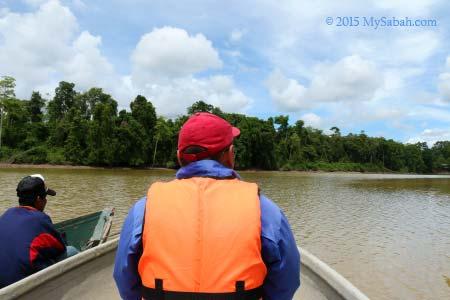 going to Tanjung Bulat Jungle Camp