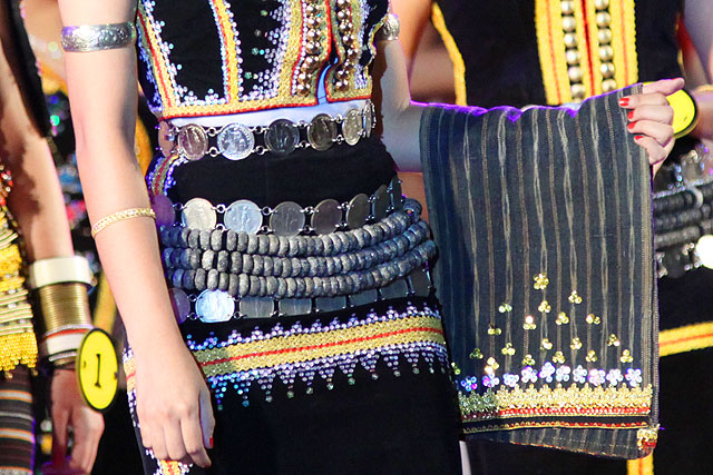 Tangkong, timeless accessory of Kadazan Dusun costumes