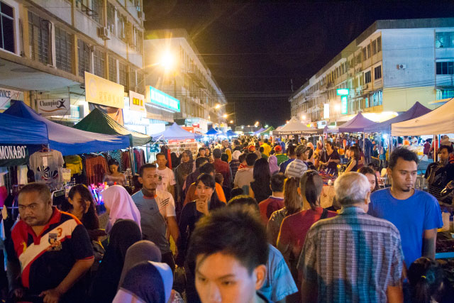 Kim Fung Night Market of Sandakan City