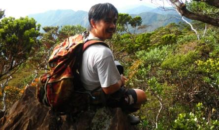 Climbing Mount Tambuyukon