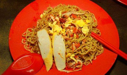 Tamparuli Mee (Tamparuli Fried Noodle)