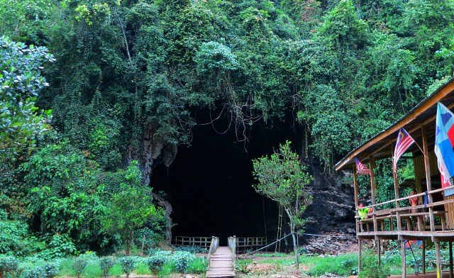 Gomantong Caves, the Largest Cave of Sabah