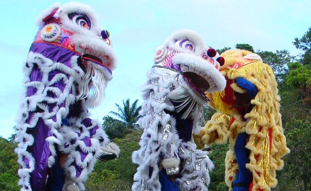 Lion, Dragon and Unicorn Dance Festival of Sabah, Malaysia
