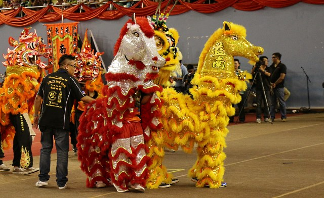 Horse Lion Dance, First in Malaysia
