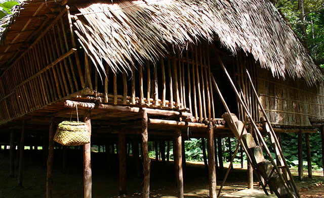 Sabah Longhouse and the Rungus