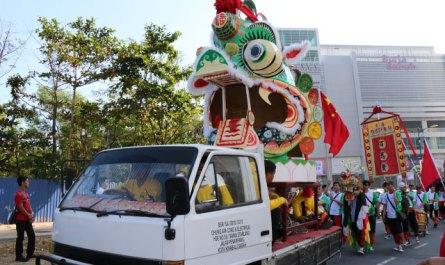 The largest Qilin head