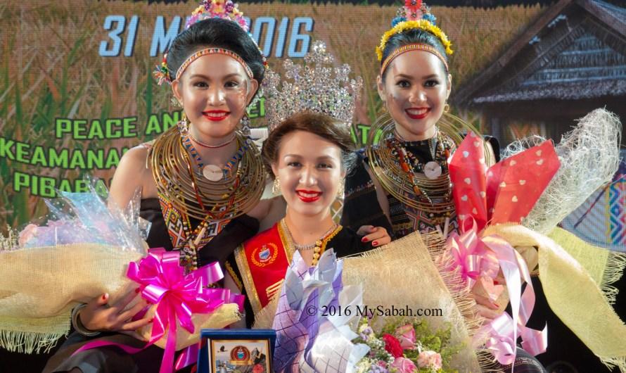 Result: Unduk Ngadau 2016 (Miss Harvest Festival, Sabah)