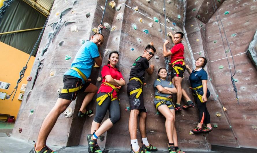 Indoor Climbing in Sabah