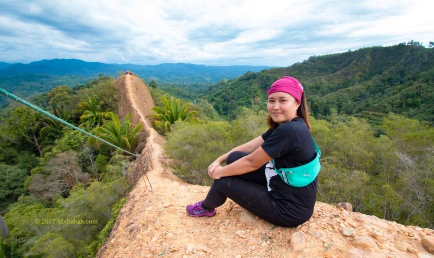 Climbing Bukit Lugas (Lugas Hill) in Tambunan