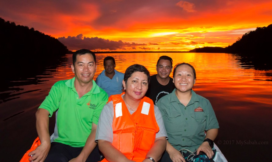 Sunset, Fireflies, Sambah River Cruise