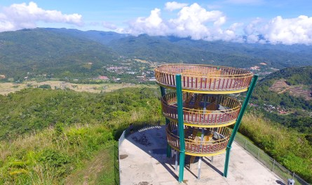 highest point of Tambunan