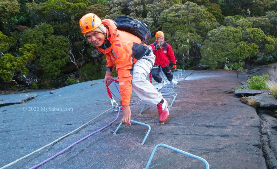 Via Ferrata, the Iron Road on Mount Kinabalu