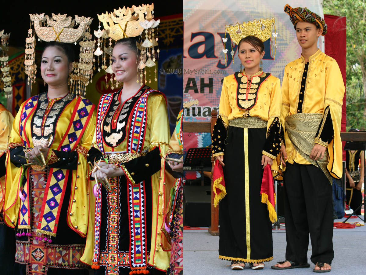 Traditional costumes of Bajau Same