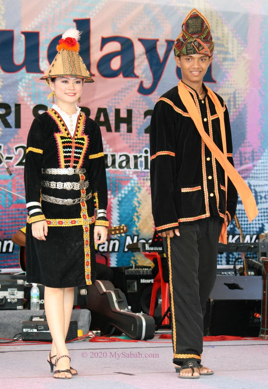 Kadazan Papar couple