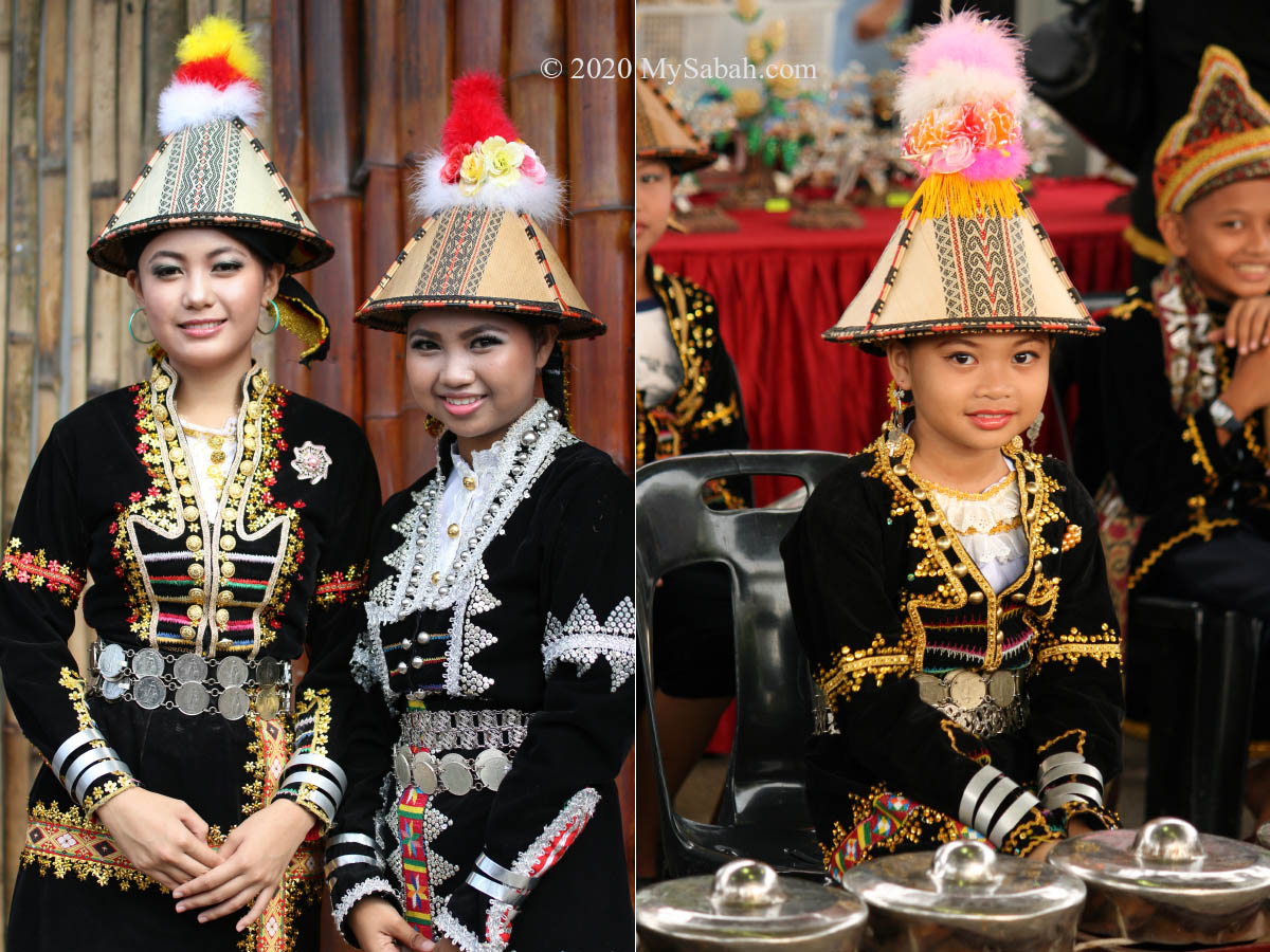Kadazan Papar girls