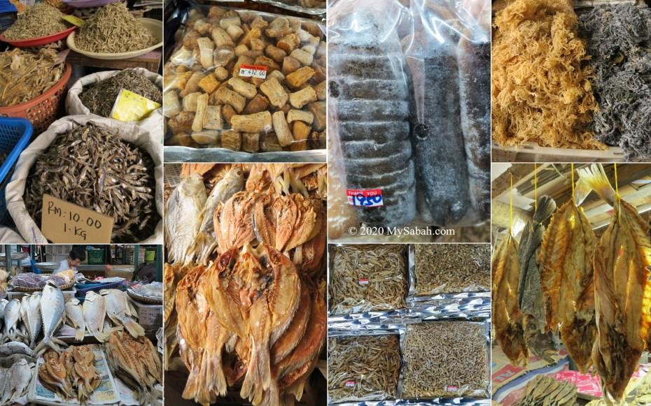 Dried Seafood of Sabah