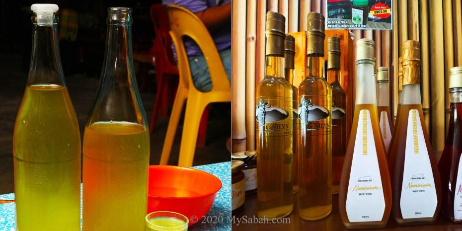 Sabah Lihing rice wine