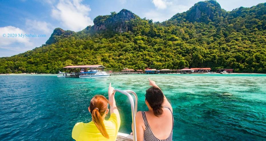 Bohey Dulang Island of Tun Sakaran Marine Park, Semporna