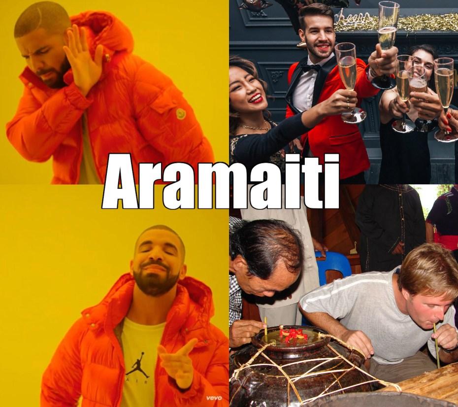 Drake Yes and No Meme: Aramaiti