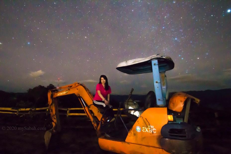 Photo shoot under the stars