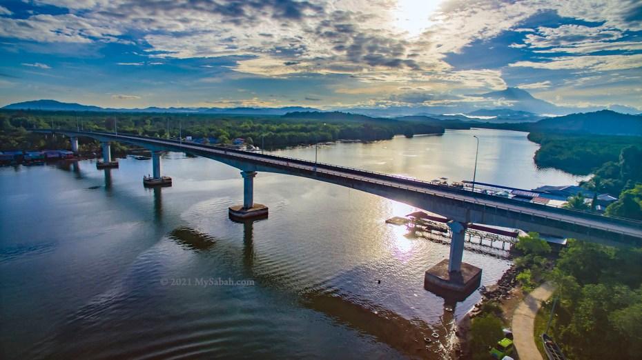 Mengkabong River Bridge of Tuaran