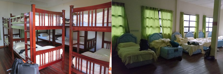 Beds of Lemaing and Panalaban Hostels