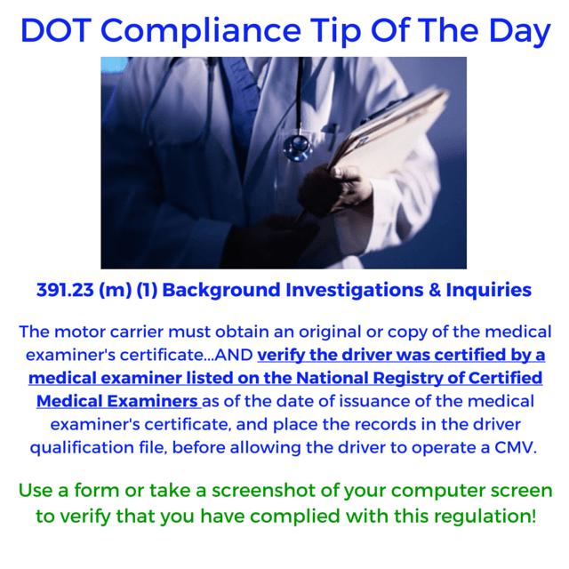 DCT- Medical Examiners