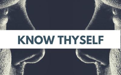 Scio Te (Know Thyself) . . .