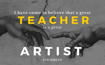 St. Francis Respects the Art of Teaching…
